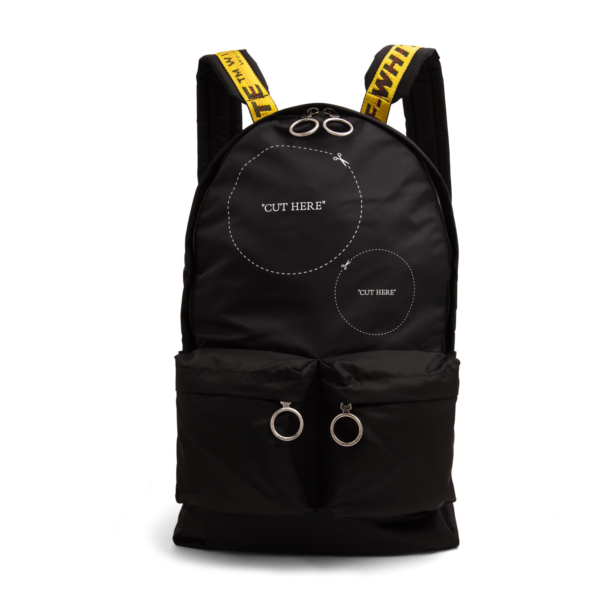 Cut Here backpack